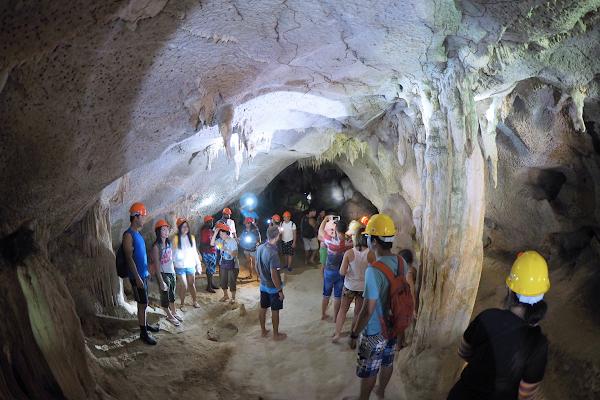 Explore the cave on Phanak Island