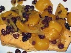 Curried Peach And Raisin Sauce Recipe
