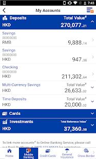 CCB (Asia) Mobile App - náhled
