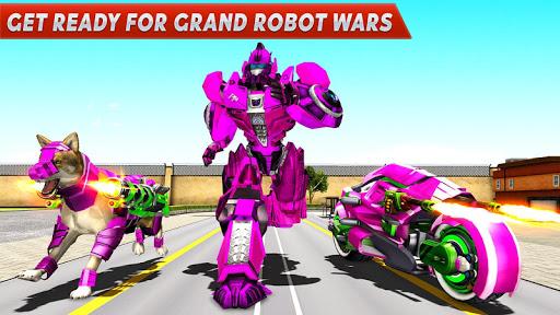 Dog Robot Transform Moto Robot Transformation Game filehippodl screenshot 5