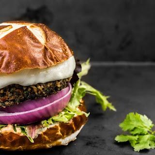 Black Bean Burgers.