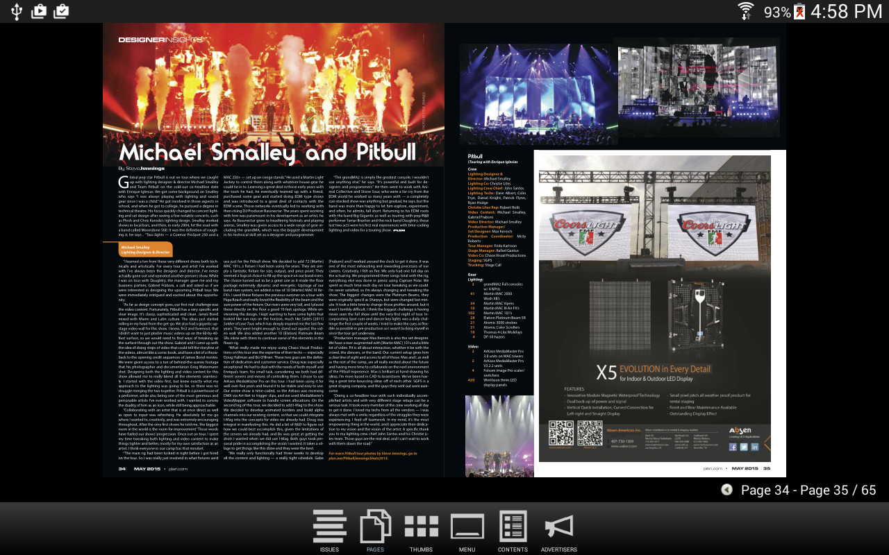 PLSN Magazine - screenshot