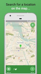 Wakification - GPS alarms - náhled