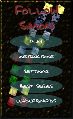 Follow Simon - screenshot