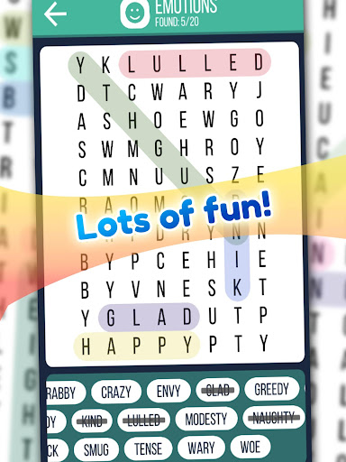 Word Search 2019: Word searching game for free screenshot 10