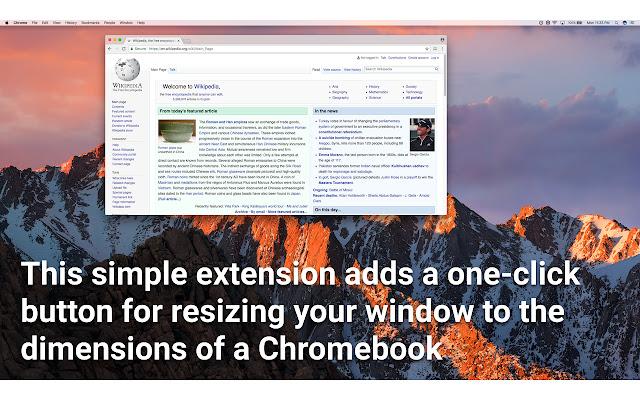 Chromebook Simulator