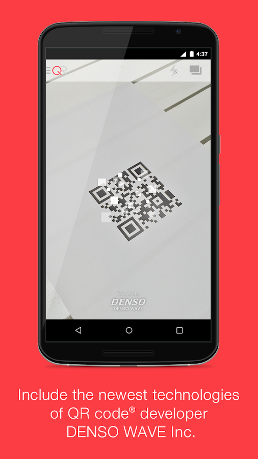 "QR Code Reader ""Q"" -FREE-- screenshot"