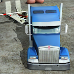 Transporter Truck 3D Icon