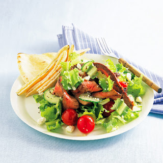 Greek Steak Salad.