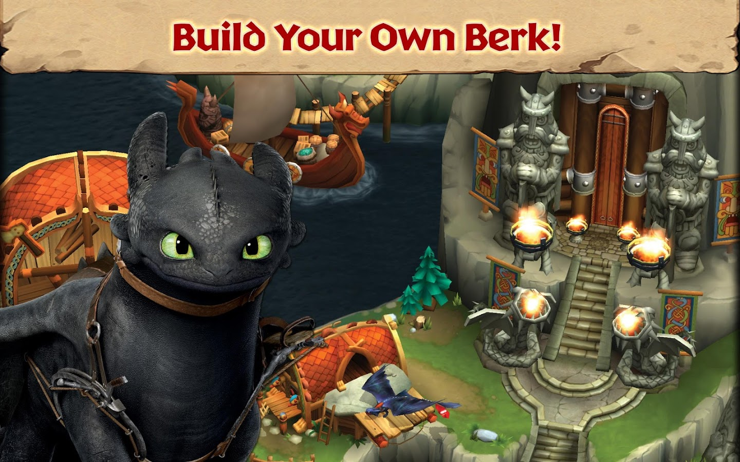 Dragons: Rise of Berk- screenshot