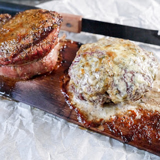 Hickory Plank Grilled Filet Mignon