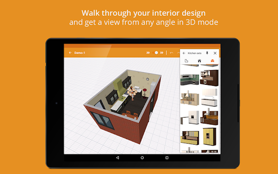 Download Kitchen Design By Planner 5d Apk