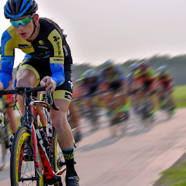 Richardson Crits by Bert Templeton - Sports & Fitness Cycling ( dallas, cyclist, racing, race, winning, richardson, cycling, north texas, texas, breckenridge, tour de france, racer, cyclocross, plano, park )