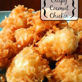 Crispy Coconut Chicken.