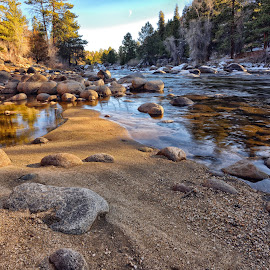 by Tony Lobato - Landscapes Waterscapes ( nature, riverside, rocky mountains, nature up close, sandy, landscape, landscapes, rivers, rocks, river,  )