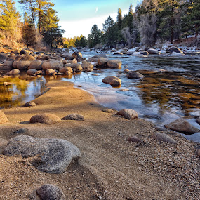 by Antonio Lobato - Landscapes Waterscapes ( nature, riverside, rocky mountains, nature up close, sandy, landscape, landscapes, rivers, rocks, river,  )