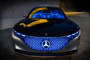 The Mercedes-Benz Vision EQS introduced a new digital light in 2019.
