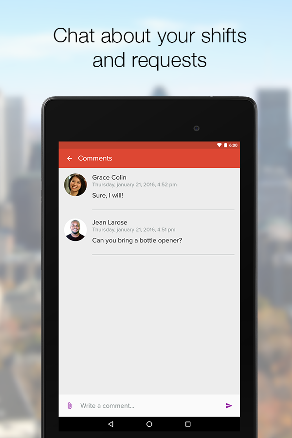 Agendrix for Employees- screenshot