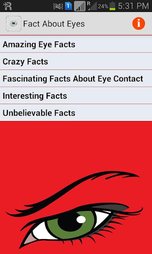 Fact About Eyes