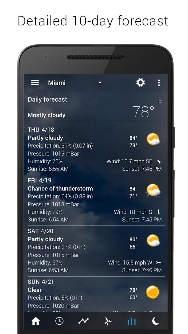 Digital clock & world weather Screenshot 13