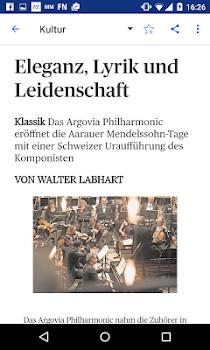 az Aargauer Zeitung E-Paper