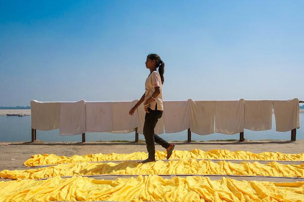 Varanasi, mother India, 2012. di Cristhian Raimondi