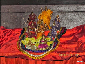 Photo: veNugOpAlan with rukimiNi and sathyabAma tiruvEnkatamudaiyAn and porivaram sEnai mudhaliyAr and nammAzhwAr