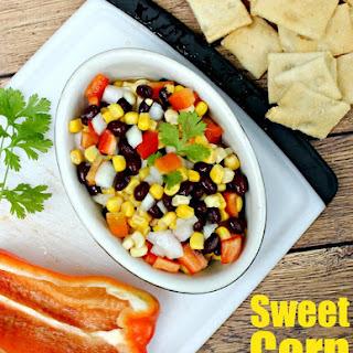 Sweet Corn Salsa Recipe with Black Beans.
