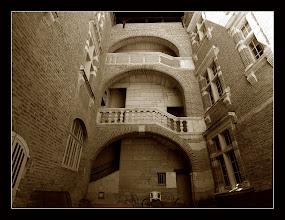 Photo: Albí, portal interior