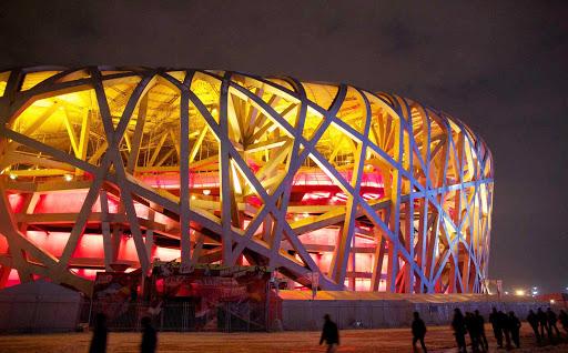Beijing-Birdsnest - Beijing National Stadium (also known as the Bird's Nest) is the stadium in Beijing built for the 2008 Summer Olympics.