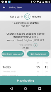 Brighton & Hove Radio Cabs- screenshot thumbnail