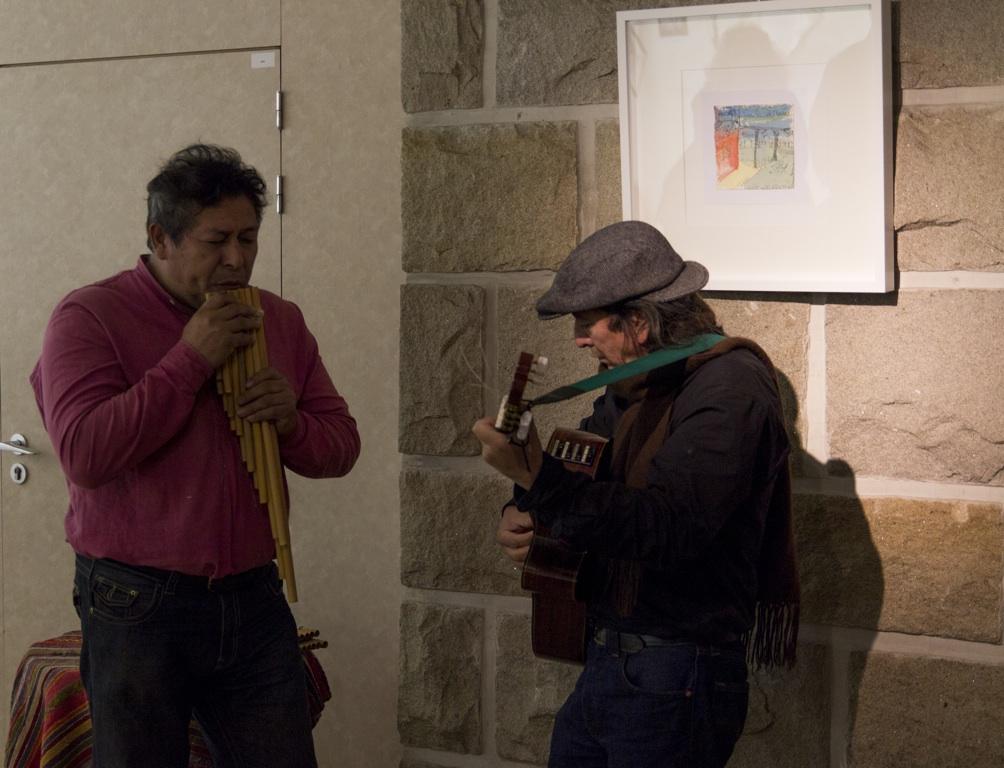 Photo: Kalin Delgado and Mañuco Romero  photos©S.Romero