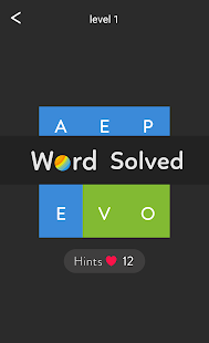 Word Shades Brain Puzzle- screenshot thumbnail