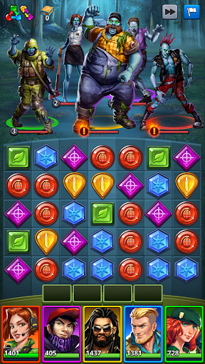 Puzzle Combat screenshot 1