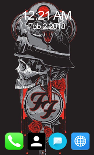 Foo Fighters Wallpaper HD Screenshot 1
