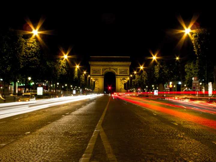 Arc de Triomphe de l'Étoile di Silvio Lorrai