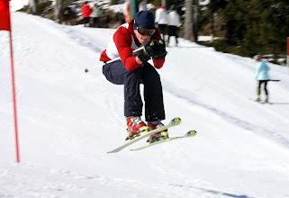 Photo: Alpines Rennen am Weiherkopf des Skiclub BolsterlangRiesenslalomTorlauf