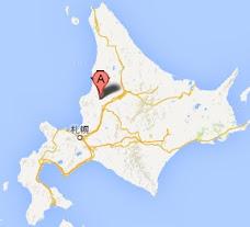 北竜町 眺望の丘・地図