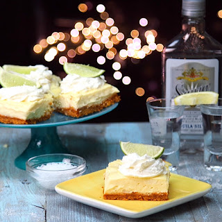 Tequila Lime Cheesecake Bars