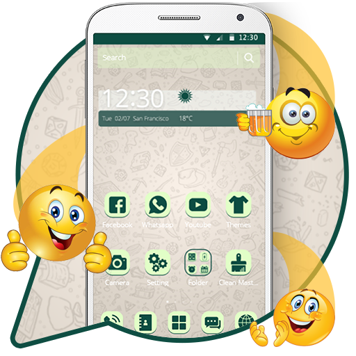 Launcher Theme for Whatsapp