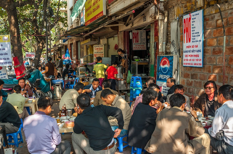 Despite its popularity waning, dog and cat meat is still eaten at the street food stalls in Vietnam's Hanoi. Picture: 123RTF/milosk