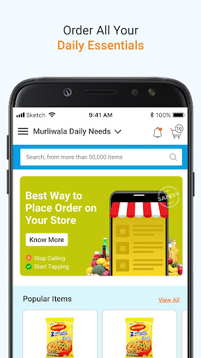 TapGrocer - Create Grocery Items List Fast & Clear 1.12 screenshots 1