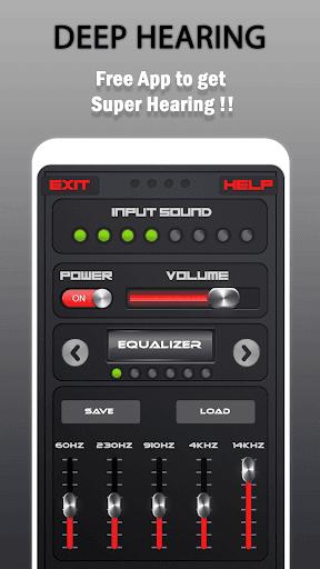 Deep Hearing : Super Ear Tool 1.0 screenshots 1