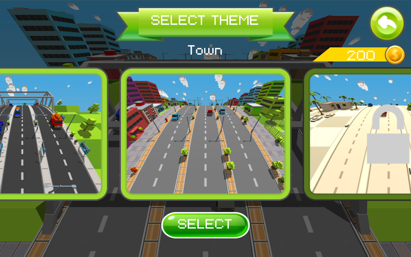 Curvy Road- screenshot