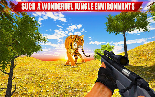 Animal Hunting Sniper Shooter: Jungle Safari apktram screenshots 5