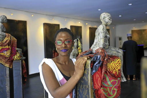 Nigerian artist Peju Alatise's mixed media works will be on show at the event as well as the work of artists from SA and the rest of Africa. Picture: SUPPLIED