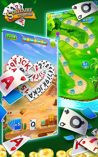 Solitaire Tripeaks - Free Card Games modavailable screenshots 4