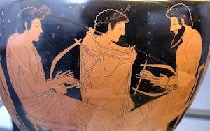 Griechische Vasenmalerei.