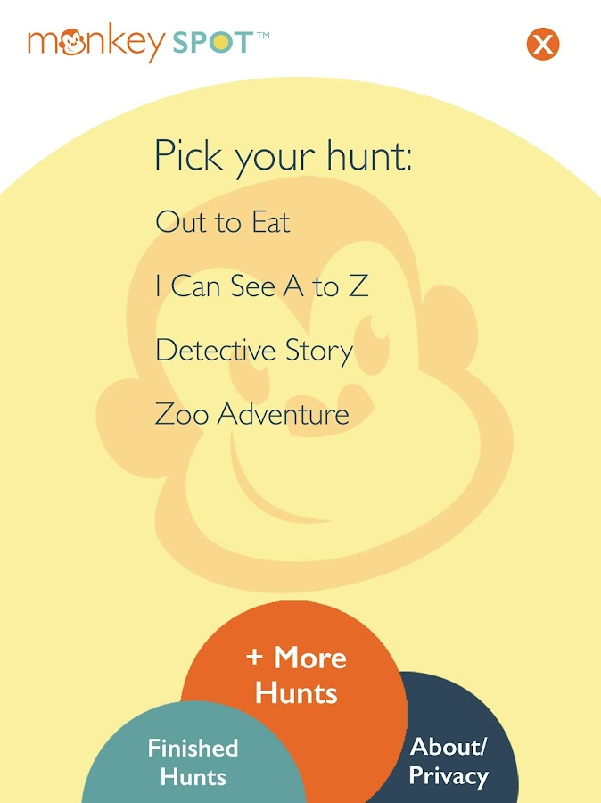 Monkey Spot Scavenger Hunts- screenshot