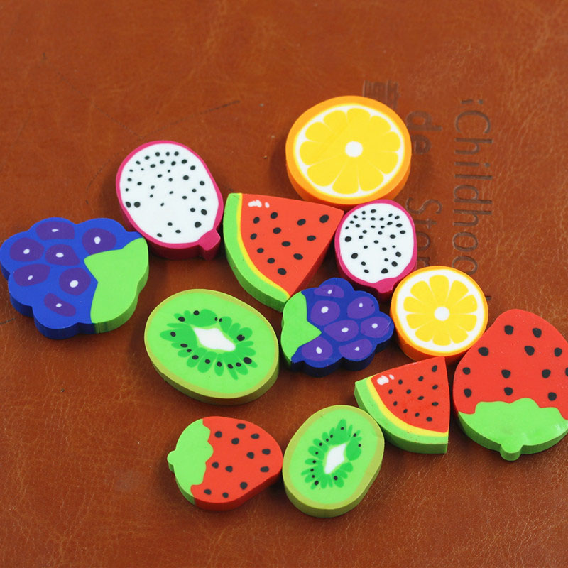 Cute Fruit Eraser for Children